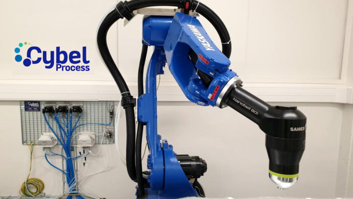 Yaskawa robot GP25 CYBEL PROCESS